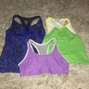 NIKE WORK OUT TOP BUNDLE Women's XS